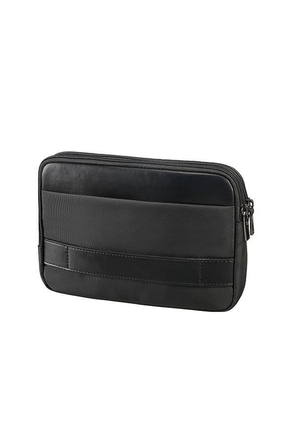 Samsonite Hip Square Clutch veske Svart   Rolling Luggage